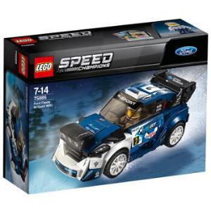 LEGO 乐高 超级赛车系列 75885 福特嘉年华M-Sport车队世界拉力锦标赛赛车99元