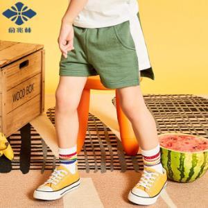俞兆林儿童外出短裤 *4件79.8元(合19.95元/件)