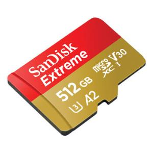 SanDisk 闪迪 Extreme 至尊极速移动版 512GB TF(MicroSD)存储卡