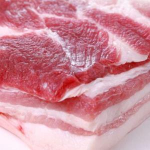 散养黑猪五花肉带皮2kg装 158元