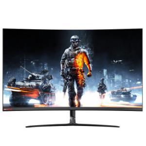 CHANGHONG长虹32C610QG31.5英寸曲面显示器(1800R、2K、144Hz)    1673元