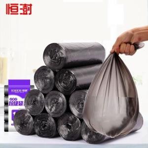 恒澍 加厚平口垃圾袋10卷200只  券后¥6.8