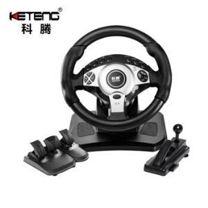 科腾900度赛车游戏方向盘电脑pc学车汽车模拟驾驶开车游戏机    299元