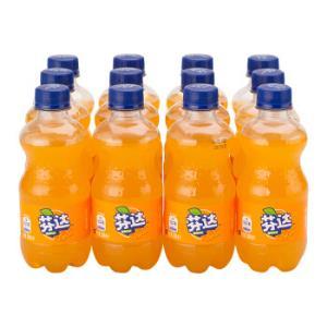 芬达 Fanta 橙味 橙汁 汽水饮料 碳酸饮料 300ml*12瓶整箱装15.9元