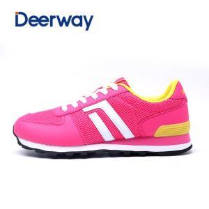 德尔惠女鞋秋季跑步鞋透气运动鞋轻便复古跑鞋休闲鞋女旅游鞋 79元