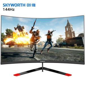 创维(Skyworth)23.6英寸 电脑显示屏144Hz FreeSync技术 HDMI全高清 曲面电竞显示器(G1AF24C) 899元