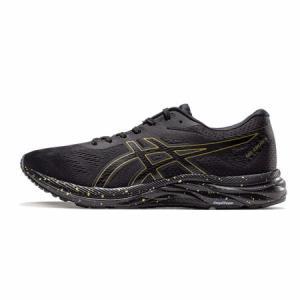 ASICS亚瑟士 缓冲跑步鞋男运动鞋19春夏GEL-EXCITE 6 1011A616-001 黑色/金色 41.5 439元