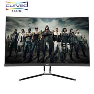 TCL T24M6CG 24英寸144Hz高刷新率支持FreeSync同步技术游戏电竞显示器 949元