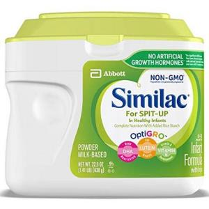 Similac 含铁,大米淀粉防吐奶婴儿奶粉 1.41磅 147元