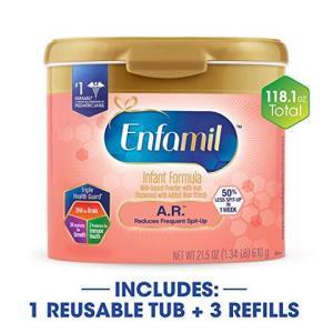 Enfamil 美赞臣 A.R. LIPIL 防吐奶配方 婴儿(610g/罐 ×1罐 和456g/盒×3盒,外观可能不同) 882.51元