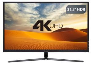 ViewSonic 优派 VX3211-4K-mhd 31.5英寸 VA显示器 (3840×2160、130%sRGB、HDR、Freesync) ¥1999