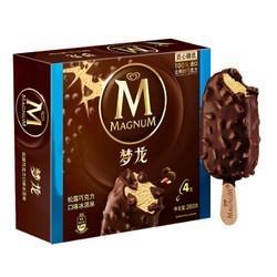 和路雪梦龙松露巧克力口味冰淇淋家庭装65g*4支雪糕(新老包装随机发货)*4件 87元(合21.75元/件)