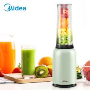 美的(Midea)迷你双杯榨汁机 便携果汁机随行榨汁杯 家用料理机 搅拌机MJ-LZ20Easy101 98.8元
