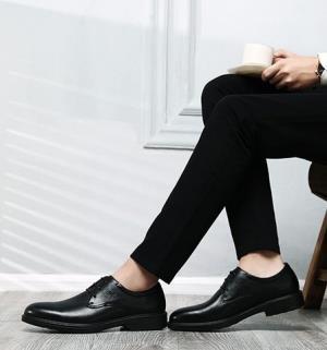 RED DRAGONFLY 红蜻蜓 WTA8774 男士头层牛皮皮鞋179元