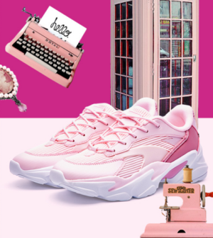 ANTA安踏12818852女款休闲运动鞋 154元