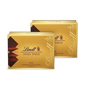 Lindt 瑞士莲 薄片黑巧克力礼盒装 125g*2 88元
