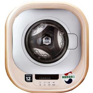 DAEWOO大宇XQG30-888G壁挂式迷你滚筒洗衣机 2969元