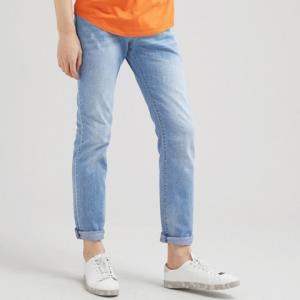 KAMA 卡玛 男士直筒牛仔裤 *3件 279.6元包邮(合93.2元/件)