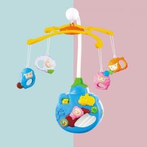 23号10点:澳贝迪迪兔床铃新生婴儿床铃玩具音乐旋转婴儿0-6个月哄睡床挂49元