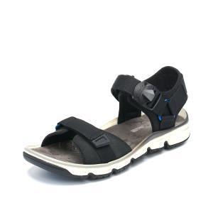 其乐clarks 男磨砂头层牛皮 罗马凉鞋 Explore Part软底  平常899元469元包邮