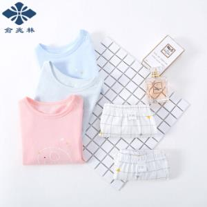 YUZHAOLIN 俞兆林 儿童短袖套装 *3件58.79元(需用券,合19.6元/件)