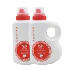 38预售:B&B保宁婴儿洗衣液1500ml2瓶装70.3元包邮