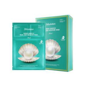 韩国进口 JMsolution JM面膜海洋珍珠面膜三部曲 10片/盒 *4件148.92元(合37.23元/件)