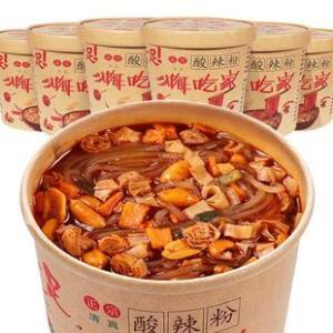 小香厨 网红嗨吃家重庆酸辣粉6桶  券后¥17.9