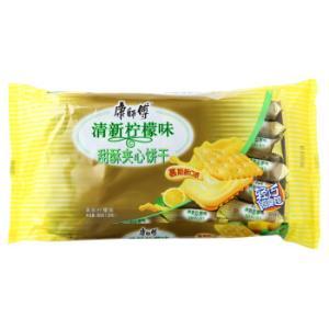 康师傅甜酥夹心饼干清新柠檬味384g*13件 155.5元(合11.96元/件)