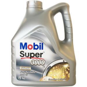 欧洲进口 美孚(Mobil) 全合成机油 速霸3000 X1 5W-40 A3/B4 SN级 4L/桶 131元