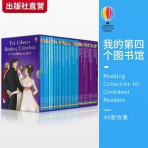 298元40册英文原版:Usborne《我的第四个图书馆 Reading Collection for Confident Readers》(8-9年级) 领100元优惠券!世界经典读物原版绘本