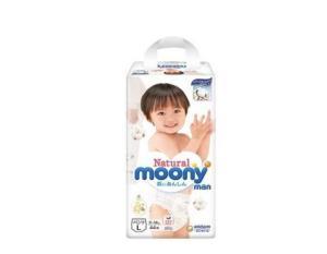 Moony尤妮佳Natural皇家系列婴儿拉拉裤L号44片*2件    218.9元(合109.45元/件)