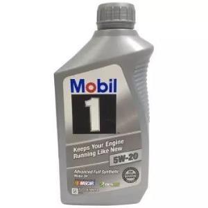 Mobil 美孚 1号 5W-20 SN 全合成机油 1Qt *13件 598.62元(合46.05元/件)