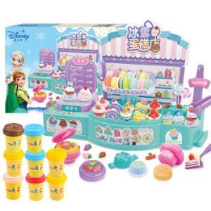 迪士尼(Disney)儿童彩泥过家家橡皮泥无毒无害玩具二合一 DS-1677 *3件 178.2元(合59.4元/件)