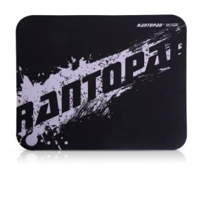RANTOPAD 镭拓 H1mini 橡胶布面便携笔记本电脑办公鼠标垫 小号 黑色 4.9元
