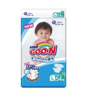 GOO.N大王维E系列婴儿纸尿裤L54片 75.2元