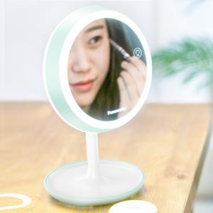 松下化妆镜台灯装饰灯可充电便携式创意礼品台灯HHLT0626G浅绿礼品 199元