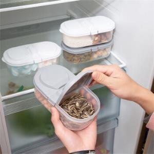 Neyankex 双格有盖厨房密封罐 16.4*9*6.5cm 3件装 12.9元包邮(需用券)