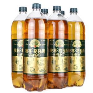 秋林格瓦斯Qiulin发酵饮料1.5L*6瓶整箱装*5件 152元(需用券,合30.4元/件)