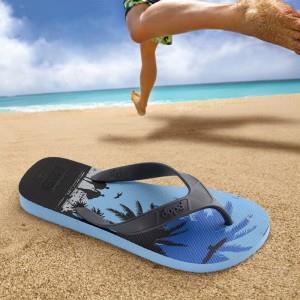 巴西原产 Dupe 海湾风情 夏季潮款 男天然橡胶人字拖 宽带鞋不勒脚  正价239元49元包邮