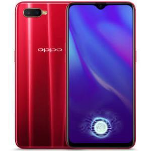 OPPO K1 光感屏幕指纹 水滴屏拍照手机 4G+64G 摩卡红 全网通 移动联通电信4G 双卡双待手机  1399元