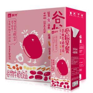 plus会员 蒙牛 谷粒早餐谷物牛奶饮品(红豆+红米+红高粱+小米) 250ml*12 *2 *2件 28元(合14元/件)