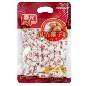 春光食品 海南特产 糖果 椰香 传统椰子糖(特浓) 250g*2 *3件  71.76元(合23.92元/件)