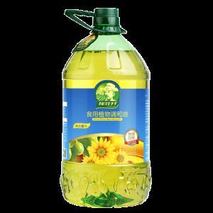 商超同款 探花村 葵花橄榄食用调和油 5L 不含转基因原料  平常70元/5L 49.9元包邮