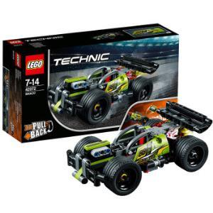 LEGO乐高机械组系列42072高速赛车旋风冲击*3件 254.12元(合84.71元/件)