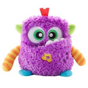 费雪 Fisher-Price 儿童玩具小怪兽系列新品 毛绒音乐小怪兽 GDR75 *2件 148元(合74元/件)