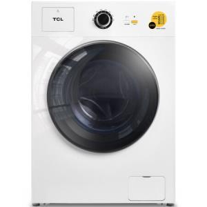 TCL洗衣机 8公斤 洗衣机全自动 滚筒 洗烘一体 一键操作(芭蕾白)XQG80-Q300D 1899元