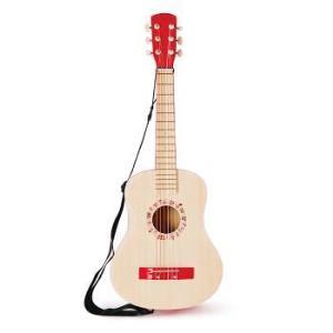 Hape 乐动红色吉他 儿童玩具 *2件 399元(合199.5元/件)