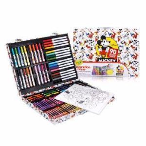 绘儿乐 Crayola 米奇90周年纪念版创意展现艺术珍藏礼盒 蜡笔水彩笔套装 04-0516 199元包邮(需用券)