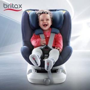 Britax 宝得适  汽车儿童安全座椅0-4岁 正反向安装 新生儿使用可坐可躺首卫者 玫瑰粉2580元